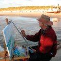 John maler ved molen