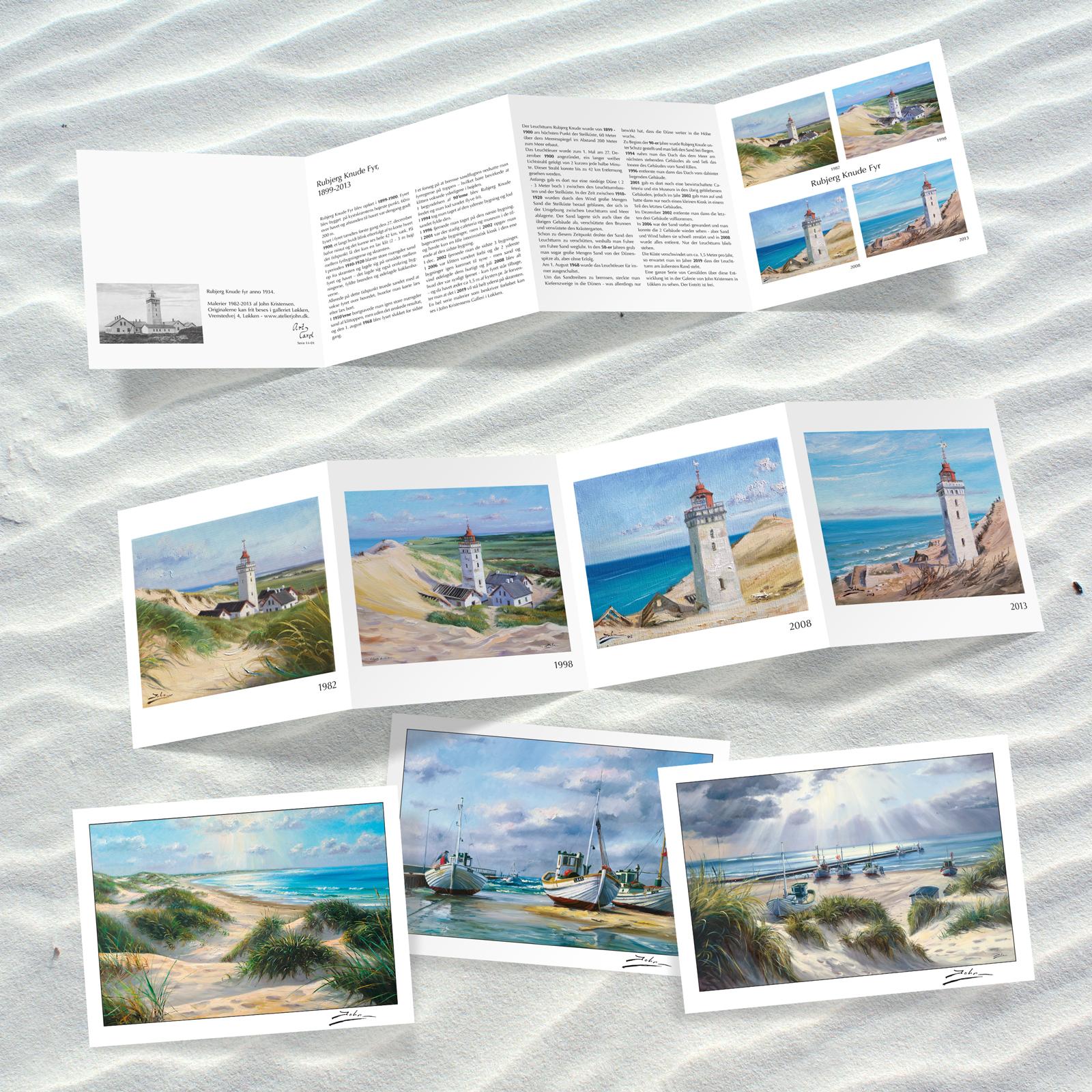 John Kristensen postkort