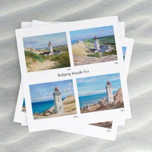 Postkort mockup