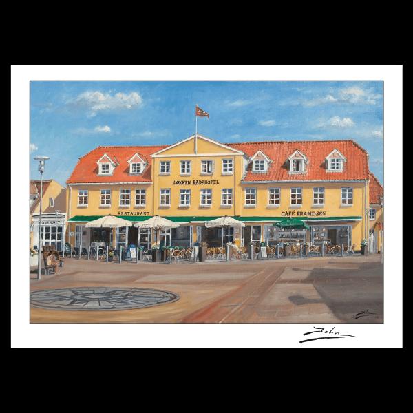 Løkken Badehotel postkort
