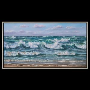 Bølger - original print på lærred